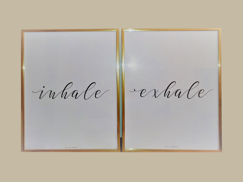 COVID-19 inhale exhale